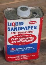 Liquid Sandpaper Deglossers