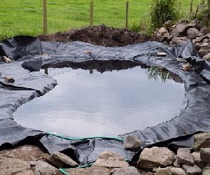 Pond liners for Small pond liner