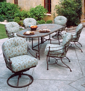 Wrought iron patio and deck furniture bistro set - Used wrought iron furniture ...