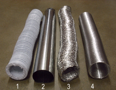 Laundry Room And Dryer Vent Materials