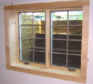 Egress Window Wells And Egress Windows