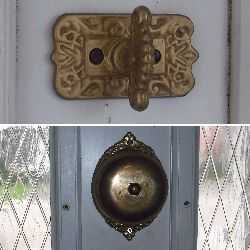 Mechanical Doorbell Vibrating Doorbell Twist Doorbell