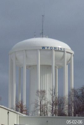 Water Towers And Standpipes In Michigan
