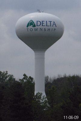 Delta Township Michigan Water Tower Lansing Capital Region